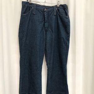 Vintage 70's Bell Bottom Flare Maverick Jeans
